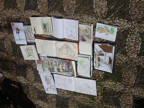 Sketchcrawl en el Palacio Viana