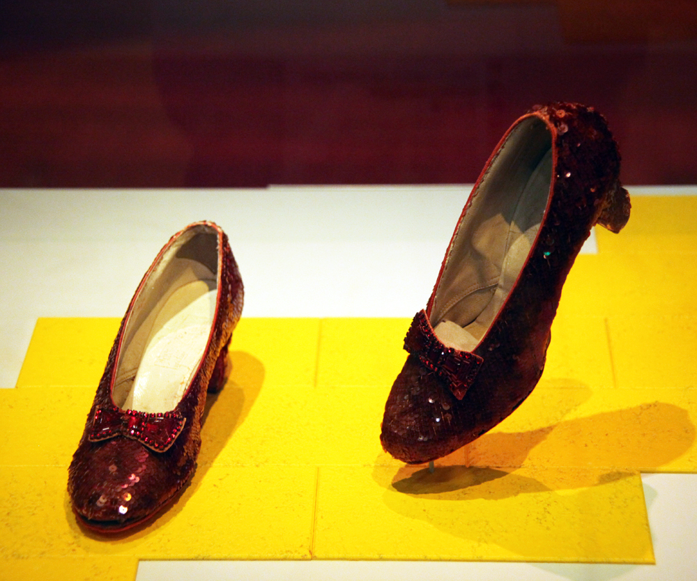 Ruby slippers from the Wizard of Oz - Smithsonian Museum of American History - 2012-05-15