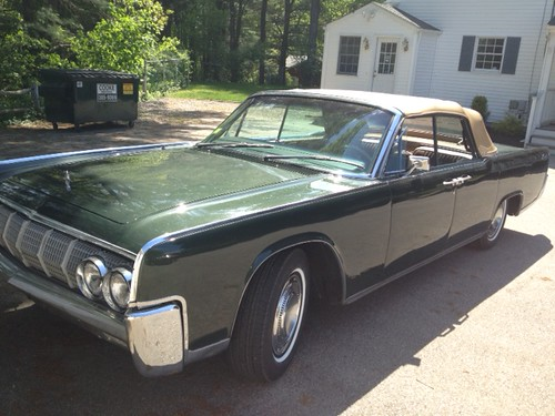1964 lincoln continental a k a deathmobile from animal. Black Bedroom Furniture Sets. Home Design Ideas