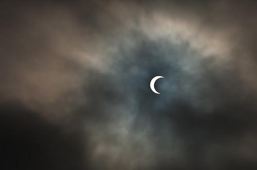 Solar Eclipse Venice Beach