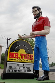 PA, Uniontown-PA 51 Mr. Tire Muffler Man