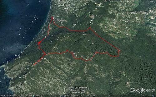 Trekking sul Monte di portofino