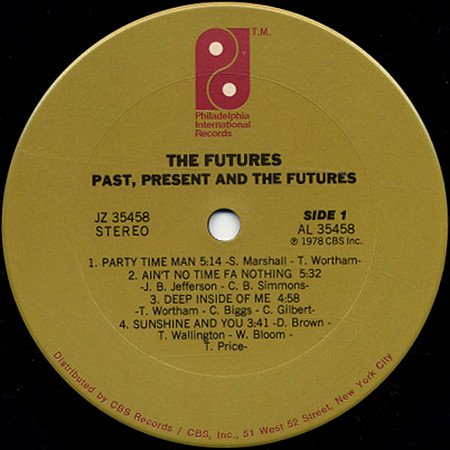 The Futures_1978_label