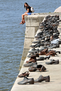 Hungary-0057 - Shoes on the Danube