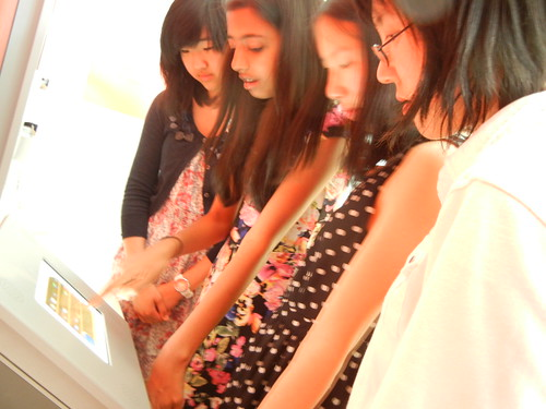 PYS students playing EA 3