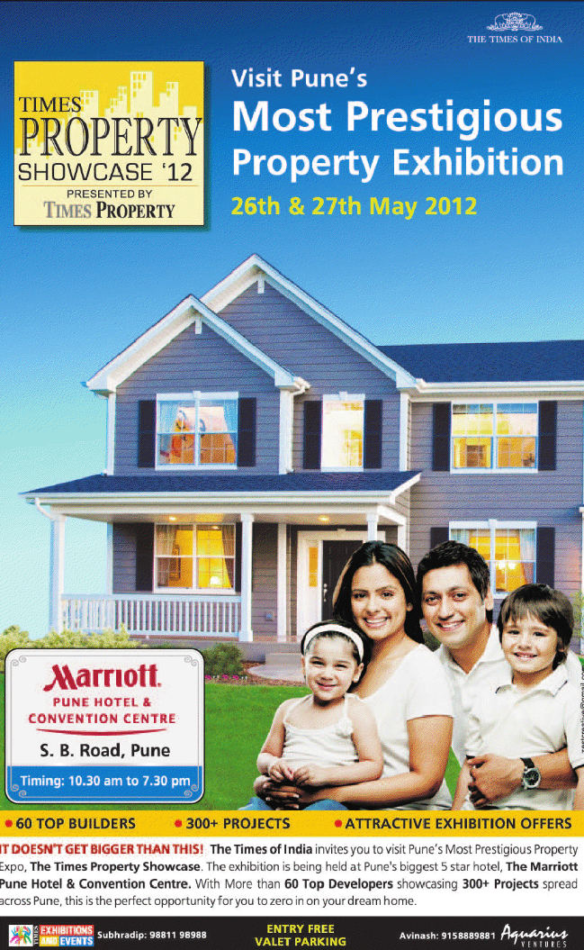 Times Property Showcase 2012, May 26th & 27th