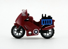 6865 Captain America's Avenging Cycle - Bike 1