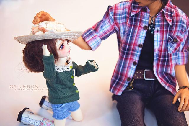 Chibi-Haru: Me a puppy? OAO??