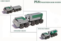 PLS: Palletized load system by Lego Junkie.