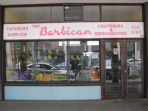 The Barbican Fruiterers & Greengrocers