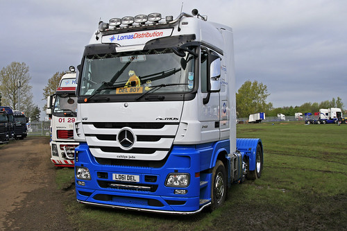 LD61 DEL MERCEDES ACTROS MSC LOMAS DISTRIBUTION