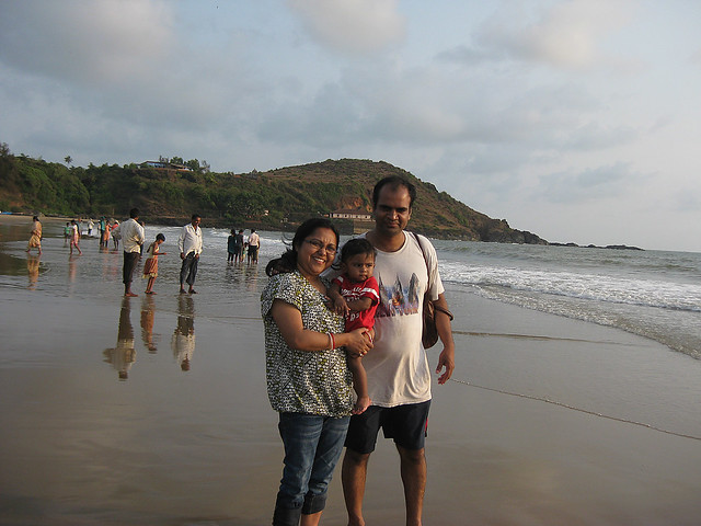 Gokarna sea beach
