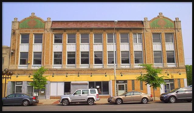 Monticello Ballroom Building, 14421-29 East Jefferson Avenue--Detroit MI