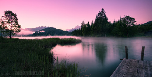 Geroldsee Purple Hour, 5am