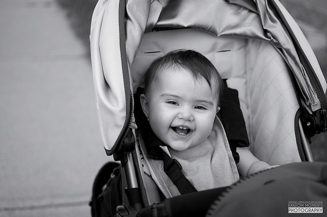 Portrait of Hayleigh in Stroller 2012-05-29