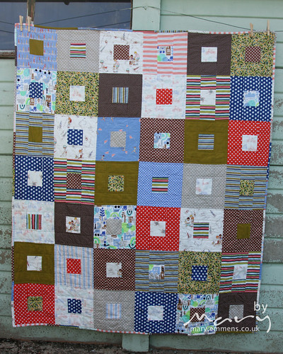 Boy Quilt for Siblings Together