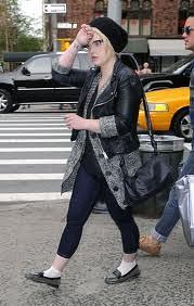 Kelly Osbourne Studded Loafers Celebrity Style Women's Fashion
