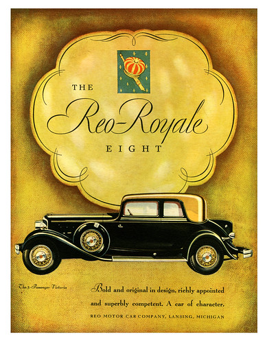 Reo-Royale: The 5-Passenger Victoria by paul.malon