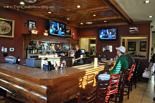 Bar Area at The Smokin' Oak Rotisserie & Grill ~ Red Wing, MN