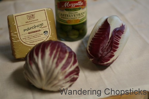Spanish Radicchio Salad with Manchego Olive Vinaigrette 3