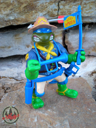 """MUTANT MILITARY 2"" TEENAGE MUTANT NINJA TURTLES ::  KOOKIE KAVALRY LEO ix (( 1992 ))"