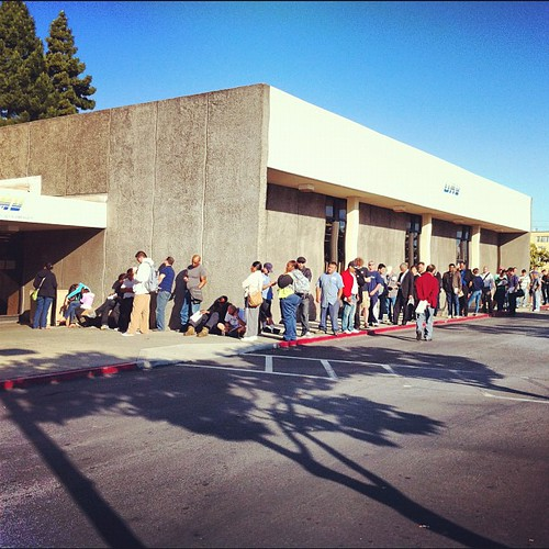 Party at the DMV...