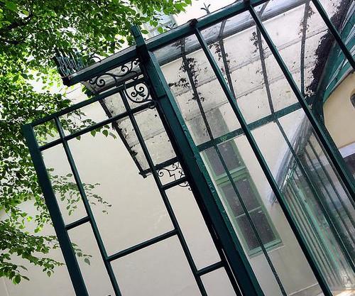 La serre du Musée de la Vie Romantique à Paris