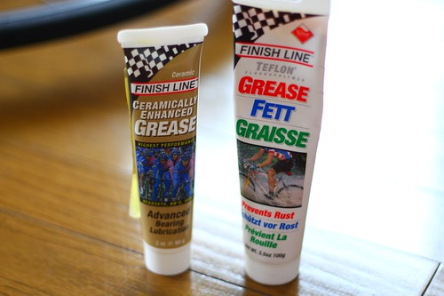 Finish Line Ceramic Grease and Teflon FETT Grease