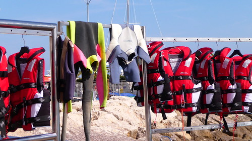 Diving and kiting equipment - you want to join? Come on in !!! by Ginas Pics