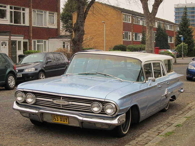 1960 Chevrolet Impala Station Wagon. | Flickr - Photo Sharing!