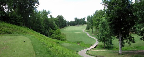 Salem Glen Country hole 14 Panorama