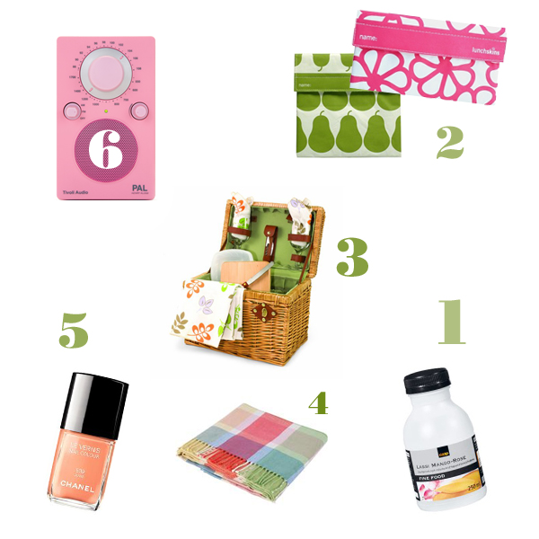 Simply girly: è tempo di picnic!