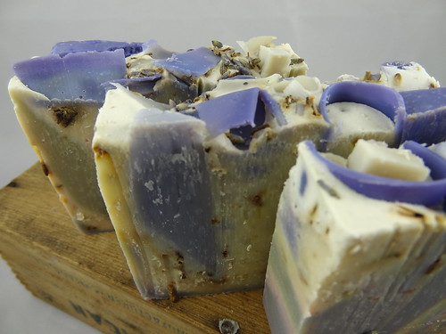 Lavender Oatmeal Soap June 2012 (2)