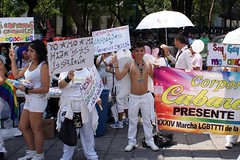 Gay Pride Day in Mexico City. June 2nd, 2012