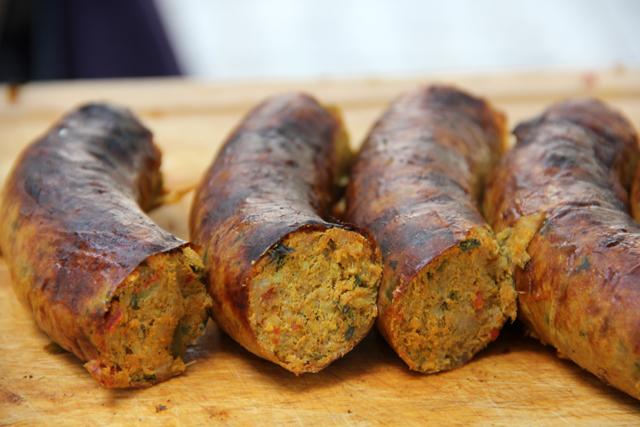 Sai Ooah (Northern Thai Sausage) ใส้อั่ว