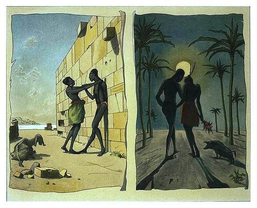 008-Amor negro-Afrika  Studien und Einfaelle eines Malers 1895- Hans Richard von Volkmann- Universitätsbibliotheken Oldenburg