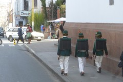 Independence parade in Sucre