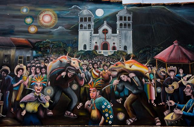 Mural, Juayúa, El Salvador