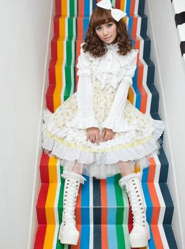 white classic lolita clothing