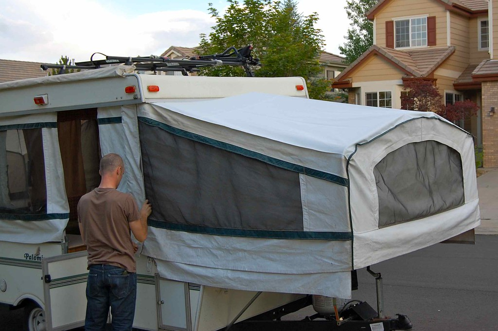 a new tent roof