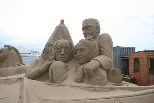 Fancy Dress - Sand Sculptures