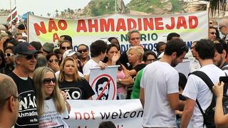 Demonstration against Ahmadinejad Manifestação contra - Rio de Janiro (52)