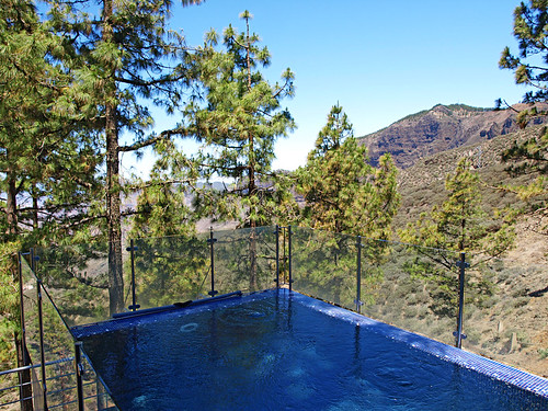 Swimming Pool at The Parador Cruz de Tejeda, Gran Canaria
