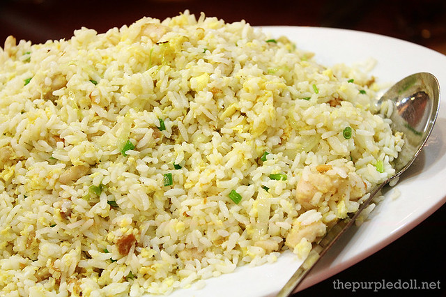 Salted Fish Fried Rice Medium P210 Large P400