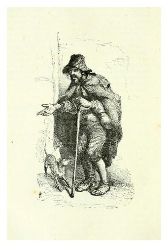 011-El mendigo-Los españoles pintados por si mismos-Tomo I-1843- Editado por Ignacio Boix