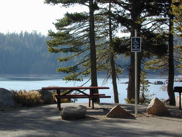 Handicap Lake Camping
