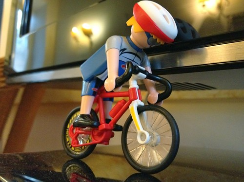 Nerd alert: there are sports specific playmobil sets for the Olympics