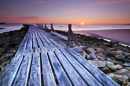 beach sunrise scotland moray lossiemouth morayfirth