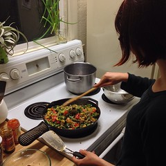 Big stir fry night!