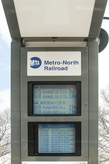 Solar Kiosk at Metro-North Station